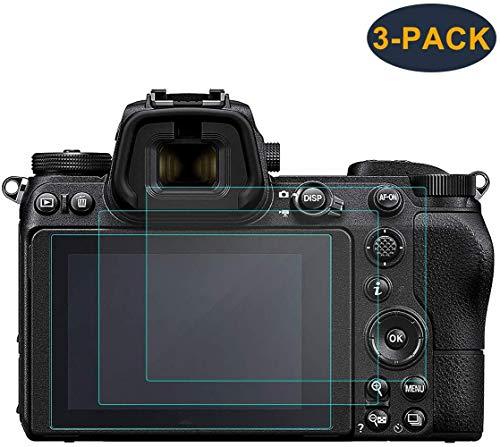KIMILAR Schutzfolie Kompatibel mit Nikon Z6 Z7 Panzerglas, (3 Stück) Displayschutz Gehärtetem Glas Folie für Nikon Z6 Z7 Mirrorless Digital Camera, Blase-Free 9H Härte Kristallklare