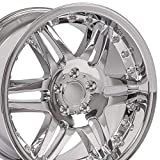OE Wheels LLC 18 inch Rim Fits Mercedes Benz Wheel MB09 18x9.5 Chrome Wheel
