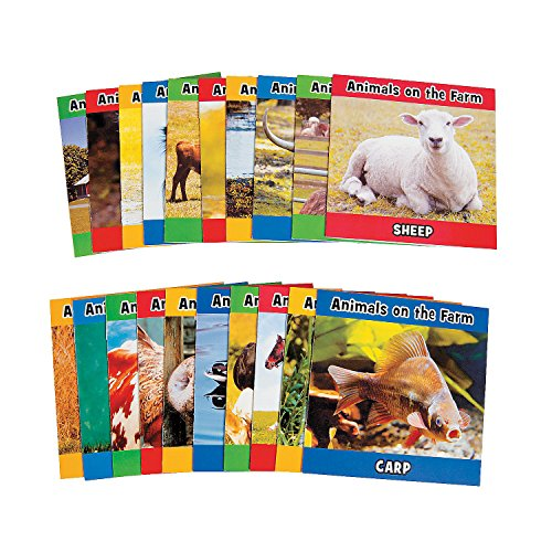 Fun Express Farm Animal Readers (20Pc) - 20 Pieces - Educational and Learning Activities for Kids