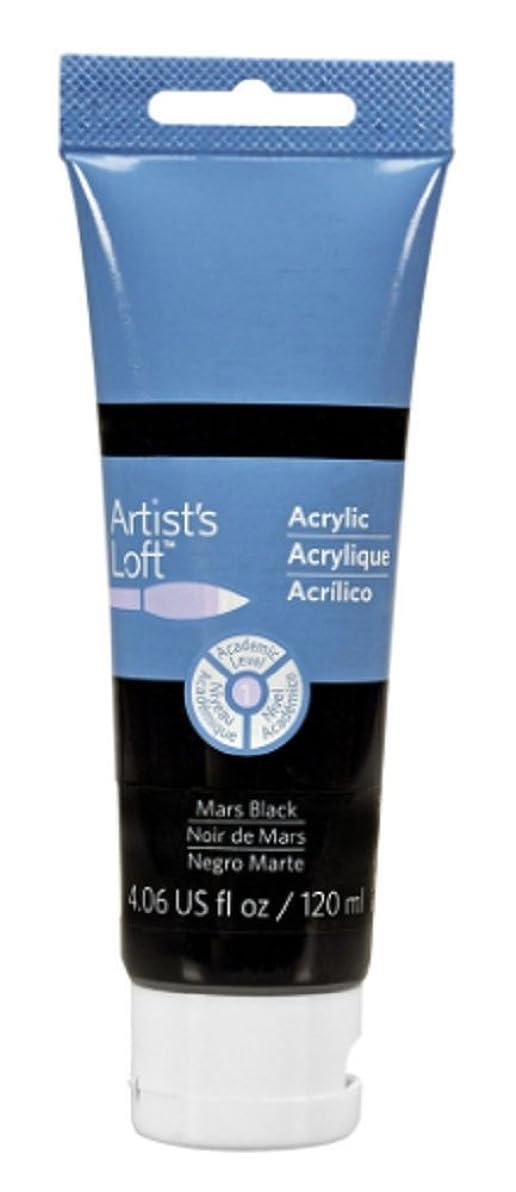 Artist's Loft Acrylic Paint, 4 oz (Mars Black)