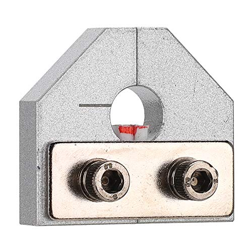 Pbzydu 【𝐂𝐡𝐫𝐢𝐬𝐭𝐦𝐚𝐬 𝐆𝐢𝐟𝐭】 Consumable Connector, Durable Practical High Specification Silver Welding Machine Fiber Connector, for All Models 3D Printer 3D Printers