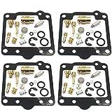 Kit de reparación de carburador Kit de reparación de carbohidratos Reemplazo para Suzuki GS750E GS750L GS750T GS750T GS 750 GS750 E L T Motocicleta Kit de reparación de carburador de la motocicleta Ju