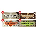 Thunderbird Paleo and Vegan Snacks Variety Pack - Real Food Energy Bars - Fruit & Nut Nutrition Bars - No Added Sugar, Grain and Gluten Free, Non-GMO, 8 Pack (Top 4 Mix)