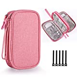For Whom: This case is made for office workers, school students & travelers who need to store & organize their electronic accessories or school stationery supplies. Slim Sleeve Companion: This case is compact, with dimension: 7.48 x 4.33 x 2.16 inch,...