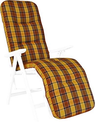 Angerer Coussin pour Chaise 50 x 175 cm, Design Londres (sans Chaise)