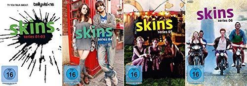 Skins - Hautnah Staffel 1-6 (1+2+3+4+5+6) [DVD Set]