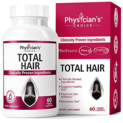 Hair Growth Vitamins (Clinically Proven Ingredients) Award Winning Keratin,...