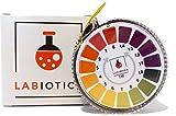 LABIOTICS Indikatorpapier für schnelle pH-Wert-Messungen (pH 0-14) - 5 Meter lange pH Papier Rolle...