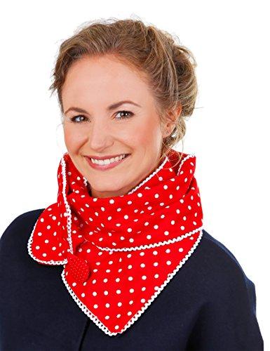 Wishproject® Schloop Rotkäppchen Schal und Loop in einem/kuscheliger Schal/Xl Schal/Schlauchschal