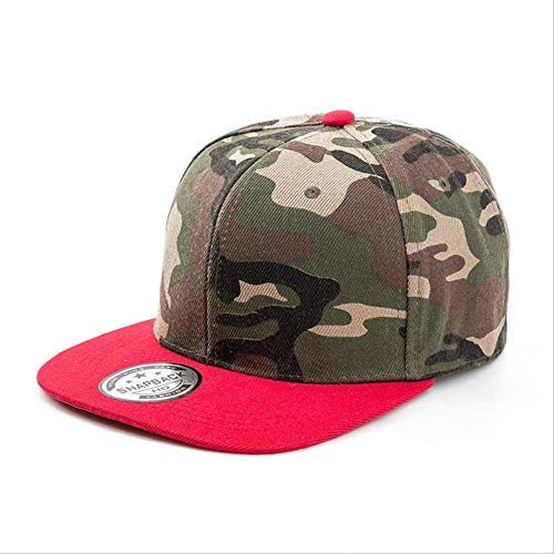 AYJMA Gorra De Béisbol Summer Fashion Camo Pad Gorra de béisbol Unisex Casual Hip Hop Sombreros tamaño Ajustable 55-59 cm