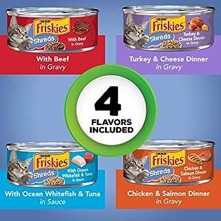اسعار Purina Friskies` Adult Wet Cat Food Variety Pack