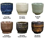 Amaco 39183K Potter's Choice Glaze Class Pack 5, Assorted Colors, 6 Pints