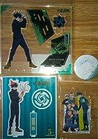呪術廻戦 MAPPA展 TaS 5周年 アクリルスタンド 缶バッジ アクリルスタンドキーホルダー 伏黒恵 anime グッズ