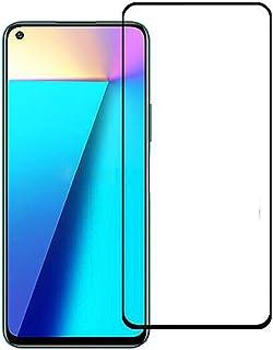 شاشة حماية زجاجية بدرجة انحناء 5 دي لموبايل انفينكس نوت 7 X690 - أسود