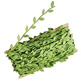 Plantas Hiedra Artificial Enredaderas con Plantas y Flores Artificiales Artificial Grass Flor Hoja Cortasetos para Adorno