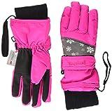 Playshoes Unisex Kinder Finger Schneeflocken Winter-Handschuhe, pink 18, 5