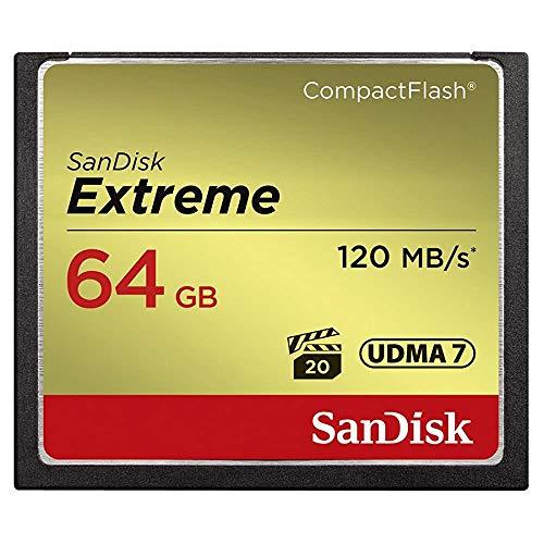 SanDisk Extreme CompactFlash Carte rénovée 64 GB