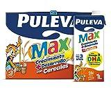 Puleva Max Leche de Crecimiento y Desarrollo con Cereales - Pack 6 x 1Lt