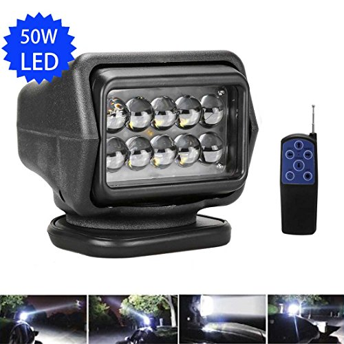 LED Rotierende Fernbedienung Arbeiten 361º Suchscheinwerfer