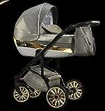 Carro de bebé Modo Exclusive 3en1 Preciosos y exclusivos Mirage Moonflower Ambar Piryt Obsidian Scarlet Sunrise (Piryt)