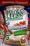 Klass Horchata Strawberry Mix 14.1 Oz Pack of 3