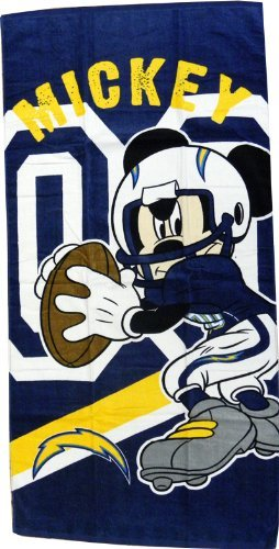 San Diego Chargers NFL Team Toss Pillow (18x18 )
