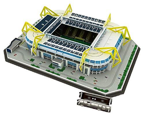 WTUGAIOHG Alter, Hast Du Das Perfekte Fußballgeschenk Gefunden? - Signal Iduna Park Stadion (Westfalenstadion), Dortmund 3D Stadium Puzzle (Produktoffizielle Lizenz)