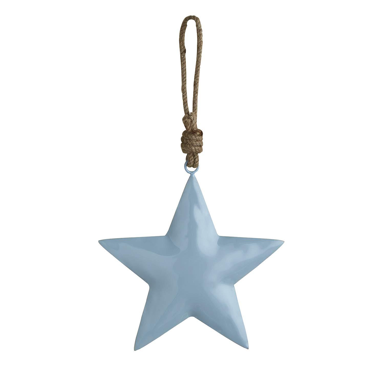 Stephan Baby Enamel Nursery Decor Collection, Hanging Blue Star