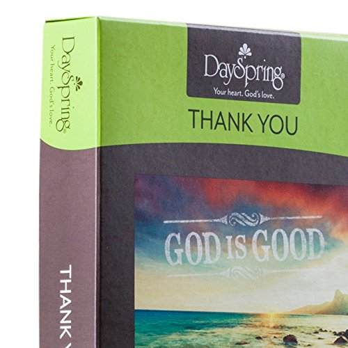 Thank You - Inspirational Boxed Cards - God Is Good Photo #7
