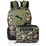 PUMA Kids' Big Lunch Box Backpack Combo, Olive,...