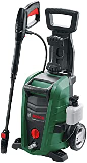 Bosch High Pressure Washer UniversalAquatak 130 (1700 Watt, 130 Bar / 1885 PSI, High Pressure Gun, Lance, 6 m Hose, 3-in-1 Nozzle and Detergent Nozzle Included, in Box)