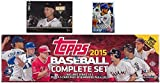 2015 Topps MLB Baseball HUGE 705 Card Factory Sealed HOBBY Factory Set with KRIS BRYANT ROOKIE & 5 EXCLUSIVE PARALLEL Cards #/179! PLUS BONUS Cal Ripken Jr. ... rookie card picture