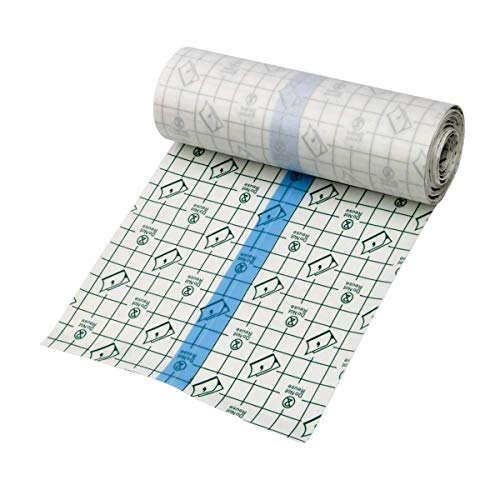 Tattoo Bandage Roll Sticker 6 x 78inches Tattoo Film AfterCare Protective Waterproof Tattoo Aftercare Product for Initial Healing Clear Adhesive Antibacterial Bandage Tattoo Supplies