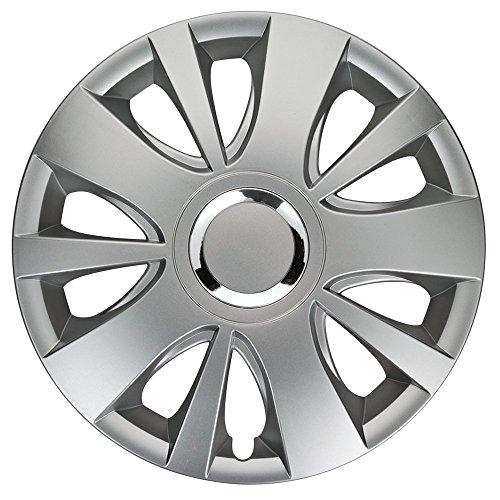 CM DESIGN Hitachi Gris–14Pulgadas, Apta para Casi Todas Las Fiat, por Ejemplo para Seat 600