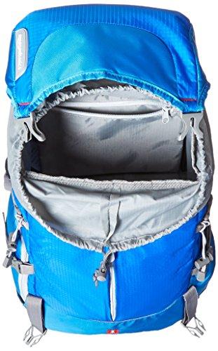 51KysvaLnLL - AmazonBasics - Mochila para cámara, para senderistas - Azul