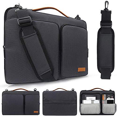 Laptop-Tasche Fall 13 14 15 15,6 Zoll Nylon Airbag Umhängetasche Handtasche wasserdichte Computer Messenger Bags-13-14 Zoll