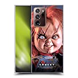 Head Case Designs Officially Licensed Bride of Chucky Doll Key Art Soft Gel Case Compatible with Galaxy Note20 Ultra / 5G
