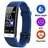GOGUM Fitness Tracker, Heart Rate Monitor IP68 Waterproof Activity Tracker HRV Health Watch SPO2...