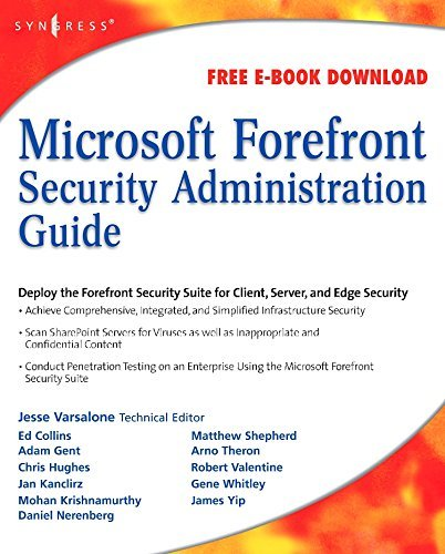 Microsoft Forefront Security Administration Guide (English Edition)