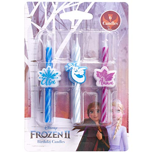 DecoPac Frozen 2 II Birthday Cake Candles Supplies