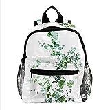 henghenghaha Sac à dos pour garçons et filles Sacs d'école Sac à dos Sacs à livres pour enfants, illustration botanique
