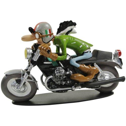 Promobo - Statuetta da collezione BD Joe Bar Team Racing Moto Guzzi 750 Al Laspi N°33