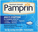 Pamprin Maximum Strength Multi-Symptom Menstrual Relief Tablets, 40-Count Boxes (Pack of 3)