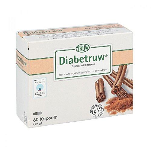 Diabetruw Zimtkapseln, 60 St