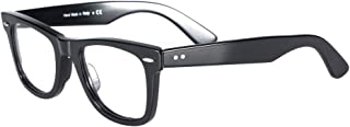 Retro Blue Light Blocking Glasses Frames for Men/Women, Optical Eyeglasses with Non Prescription Lens