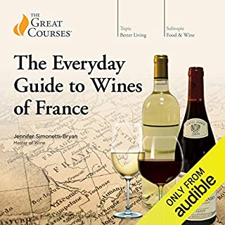 The Everyday Guide to Wines of France audiobook cover art