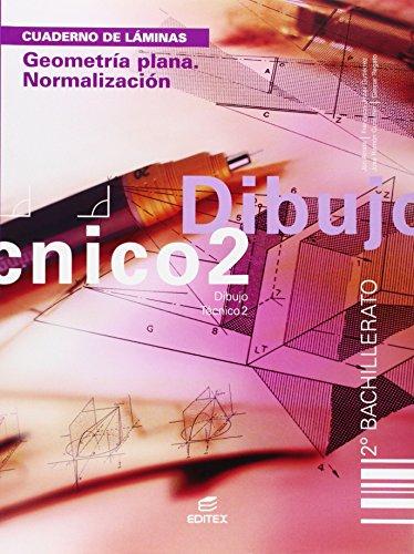 Cuaderno. Geometría plana. Normalización. Dibujo Técnico 2º BCH (Cuadernos de Trabajo) - 9788497712491 ✅