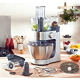 Kenwood Prospero KM286 900W 4.3L Acero inoxidable - Robot de cocina (4,3 L, Acero inoxidable, Acero...
