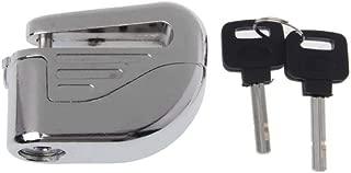 1cm Motorcycle Scooter Bicycle Anti-Theft Wheel Disc Brake Lock Security Alarm+2 Keys