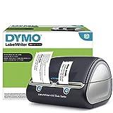 DYMO - Impresora de etiquetas negra inalámbrica LabelWriter, 71 etiquetas de cuatro líneas / min